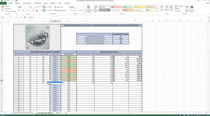 Create Your Day Trading Profit Calculator in Excel | StockManiacs