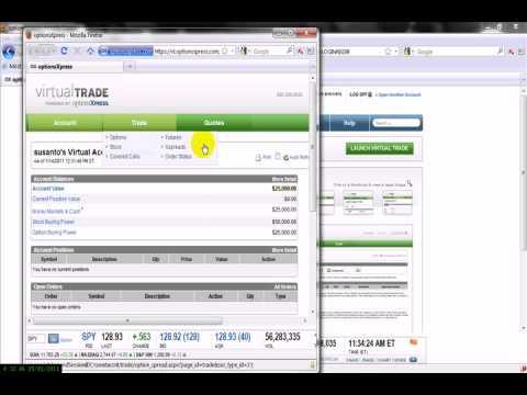 X options trading