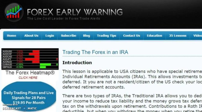 Options trading in roth ira